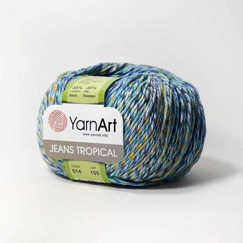 Пряжа YarnArt Jeans Tropical цвет 614