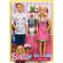 Barbie and Ken Dolls