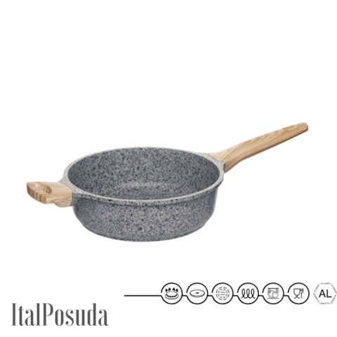 Глубокая сковорода NADOBA MINERALICA, 24 см