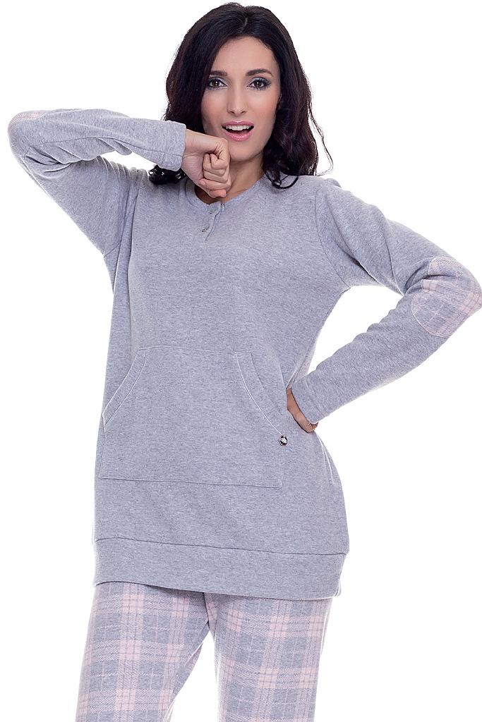 Теплый женский домашний костюм DolceVita