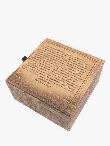 Подарочная дизайнерская коробка к ремню Великоросс