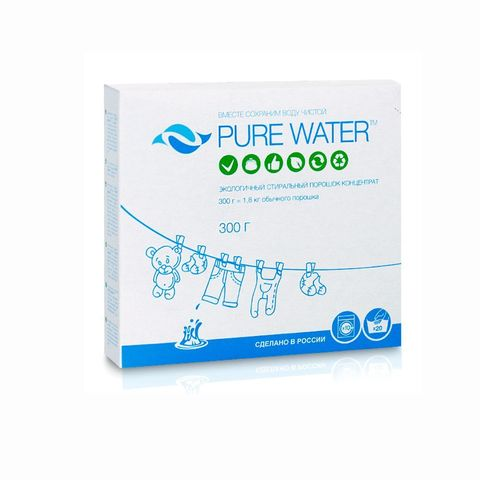 Стиральный порошок | 300 гр | Pure Water