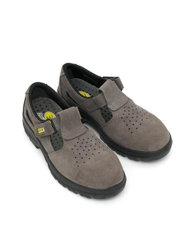 Полуботинки (сандалии) рабочие «BICAP» L 2041/2 1S1 замшевые с перфорацией