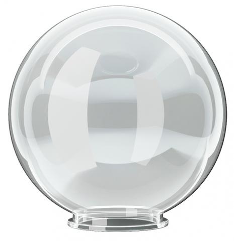 Рассеиватель шар ПММА 300 мм прозрачный (байонет 145 мм) TDM