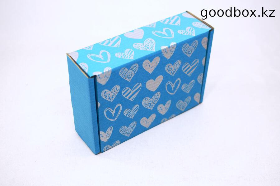 Картонная коробка для подарка купить с доставкой по Казахстану