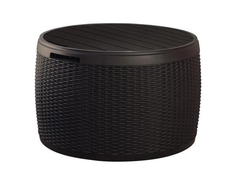 Стол-сундук Раттан (Circa rattan storage box)