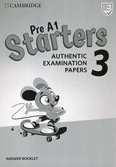 Starters 3 Answer Booklet (New format)