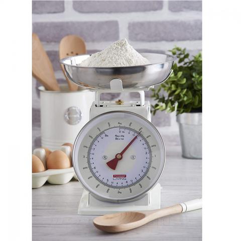 Весы кухонные Living кремовые 4 кг