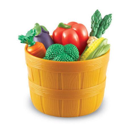 LER9721 Игровой набор продуктов Овощи в ведерке Learning Resources