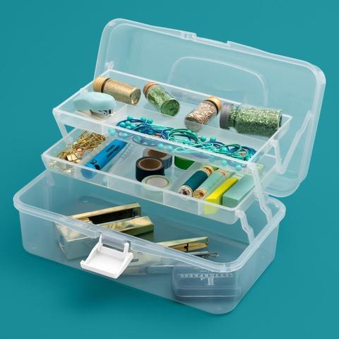 Органайзер We R crafters tool box 14*32*18 cm