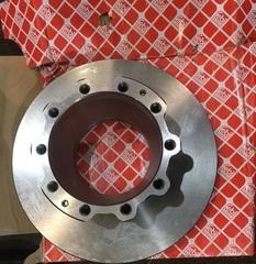 MAN - тормозной диск задний 335/176x118/34 MAN L2000/TGM/TGL/TGA  Производитель - Febi (Германия)  OEM MAN - 81508030063; 81508030054