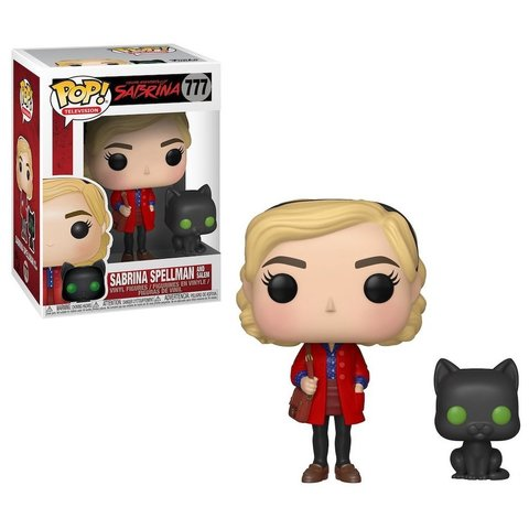 Sabrina and Salem Vinyl Figure || Сабрина и ее кот Салем