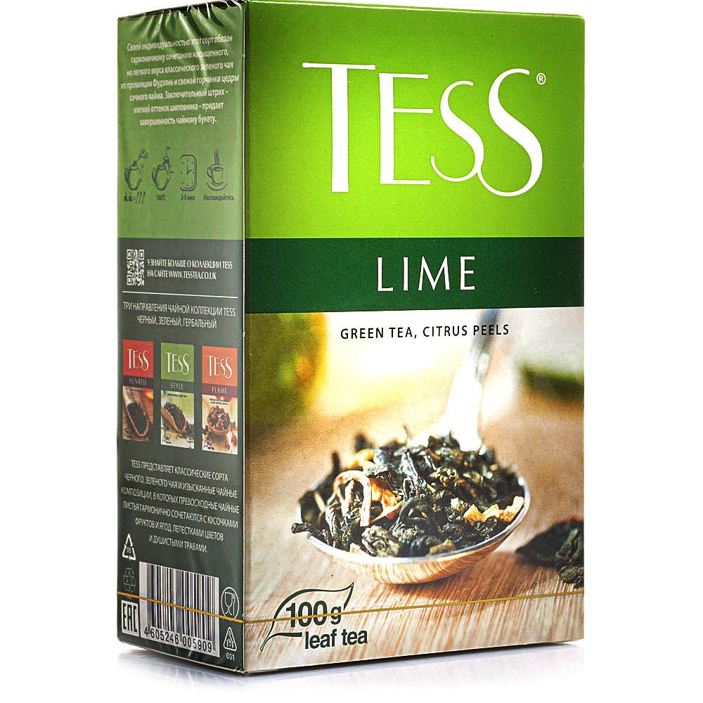 Чай TESS LIME зелёный 100 гр
