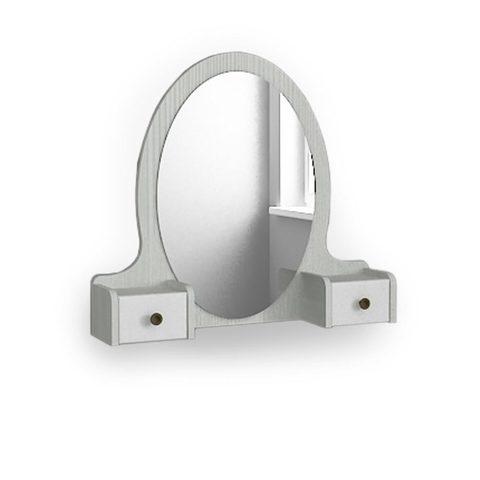 Зеркало с надстройкой к туалетному столу «Классика»