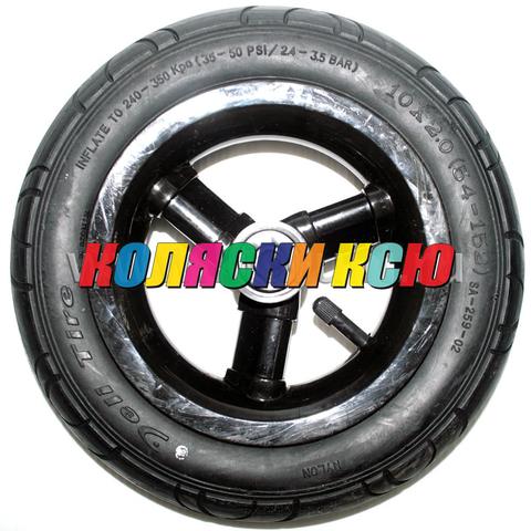 Колесо для детской коляски №003074 надув 10 дюймов без вилки 54-152 10х2,0