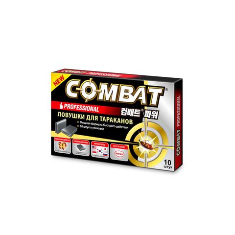 Средство от насекомых COMBAT Professional ловушка для тараканов 10шт