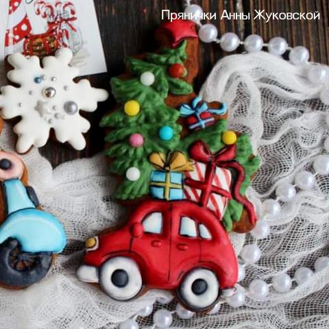 Набор №1850 - Новогодняя машинка