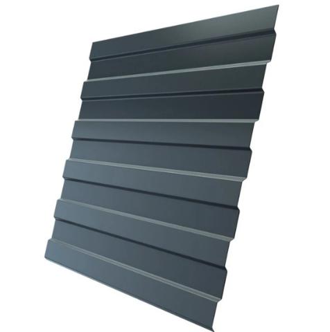 Профнастил НС10х1190 мм RAL 7024 Серый графит двухсторонний