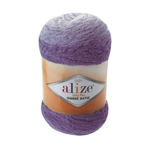 Пряжа Alize Softy Plus Ombre Batik цвет 7298
