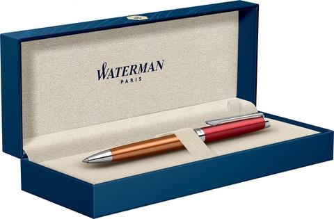 Шариковая ручка Waterman Hemisphere French riviera VERMILLON в подарочной коробке123