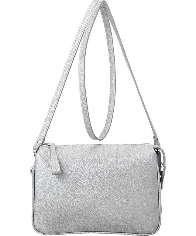 3013 серебро/металлик 835 Сумка  Azaro