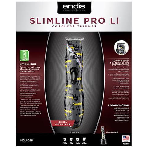 Триммер для стрижки волос окантовочный Andis D-8 Slimline Pro Li Nation, 0,1 мм, аккум/сетевой, 2,45