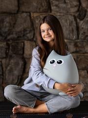 Мягкая игрушка-подушка Gekoko «Кот Дым» 2