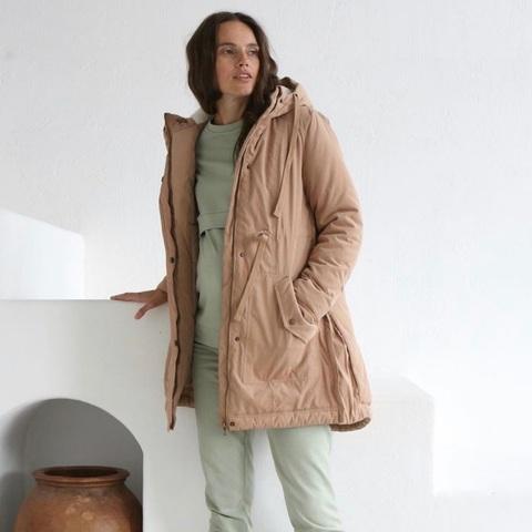 Куртка демисезонная цвет кэмел