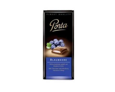 Молочный шоколад с голубикой Weinrichs 1895 Porta, 100 г