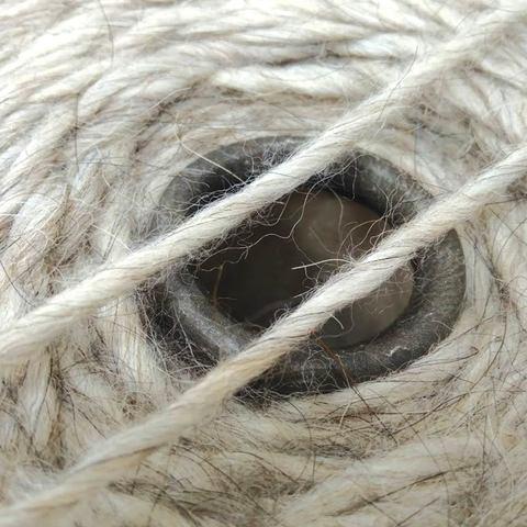 Смесовка с альпакой ANDINO 120 серо-бежевый меланж
