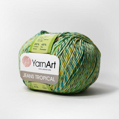 Пряжа YarnArt Jeans Tropical цвет 616