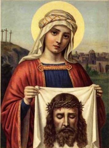 Икона святая Вероника на дереве на левкасе мастерская Иконный Дом