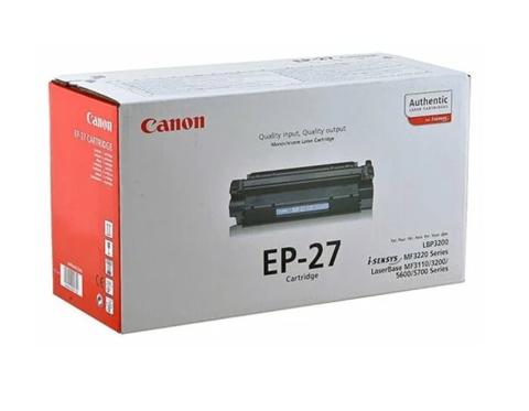 Оригинальный картридж Canon EP-27 черный 8489A002