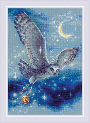 Набор для вышивания крестом «Волшебная сова» (1872)