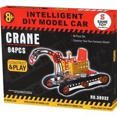 Конструктор металлический Same Toy Inteligent DIY Model Car Кран 94 эл. 58032Ut