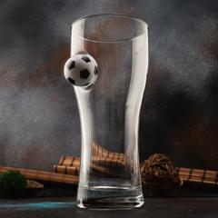 Пивной бокал «Pub Football» крафт , 500 мл, фото 4