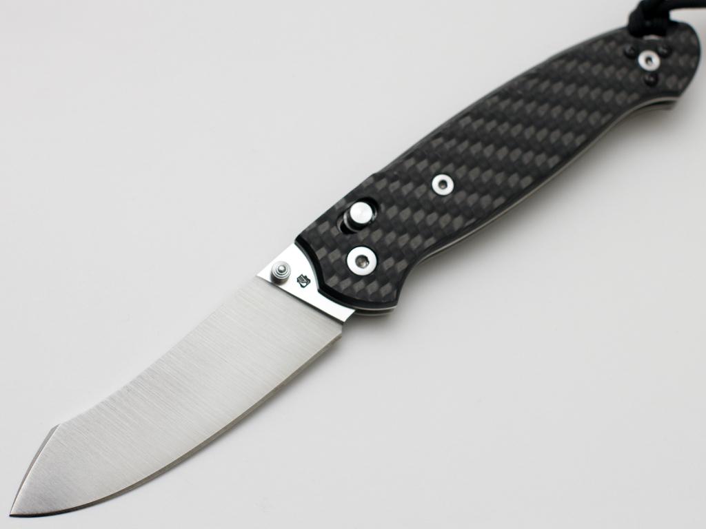 Нож БАРС мастерской Чебуркова М390 карбон - фотография