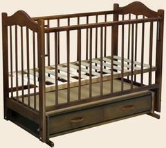 Детская кроватка Ведрусс Кира 4 (маятник поперечный) 120x60 см