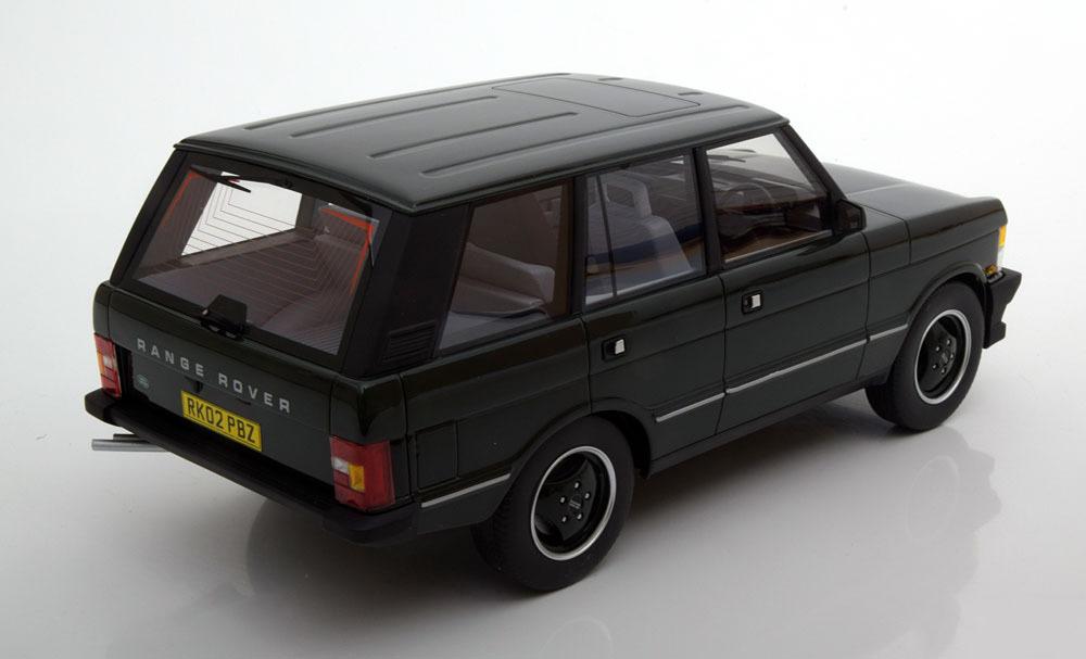 Коллекционная модель Range Rover Serie 1 1986 Black