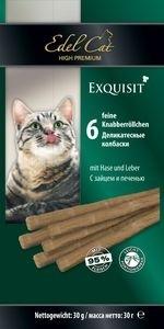 Edel Cat Лакомство для кошек Edel Cat Колбаски с мясом зайца и печенью _file50b34f4148def_x150__1_.jpg