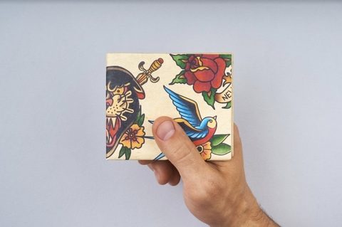 Экологичный бумажник New Tattoo