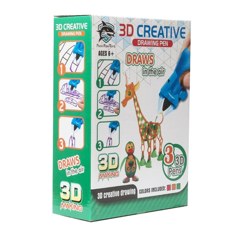 3D ручка Creative Drawing Pen оптом