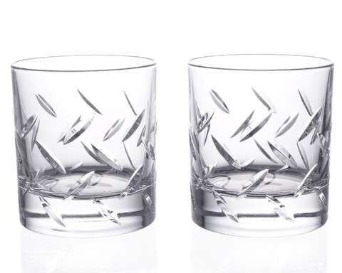 Набор стаканов для виски STEEL RCR Prestige 290 мл, 2 шт