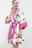 Цветочное махровое кимоно Luna di Giorno