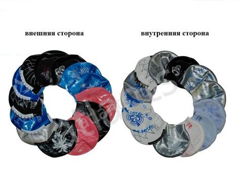 CAP 801-813 Шапочка для плав двусторонняя с рисунком