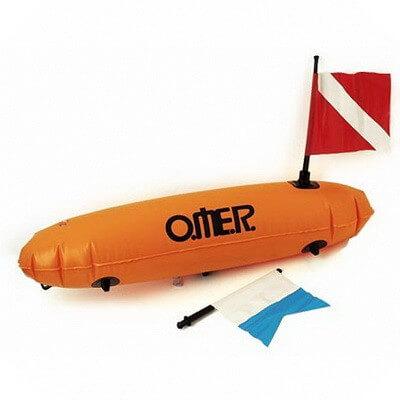 Буй Omer Пвх торпедо с 2 флагами