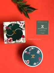 Распродано, временно нет в наличии- Гидрогелевые патчи с лепестками зелёного чая Jayjun Green Tea Eye Gel Patch