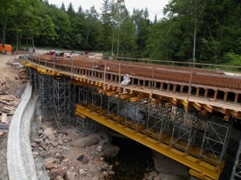 ПМООС. Реконструкция моста через реку на автомобильной дороге