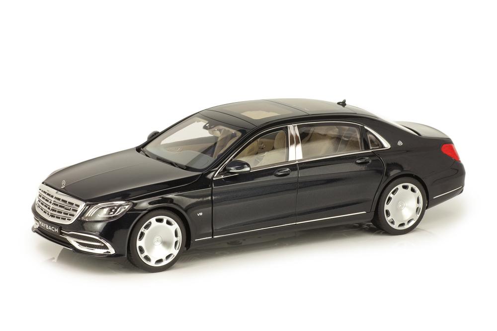 Коллекционная модель MERCEDES-BENZ W222 MAYBACH S650 UPLIFTING X222 2018 BLACK