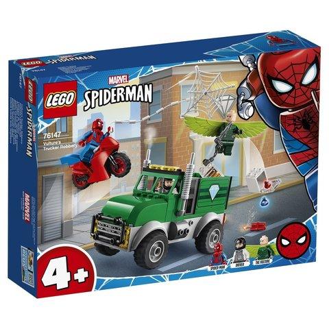 LEGO Super Heroes: Ограбление Стервятника 76147 — Vulture's Trucker Robbery — Лего Супергерои Марвел